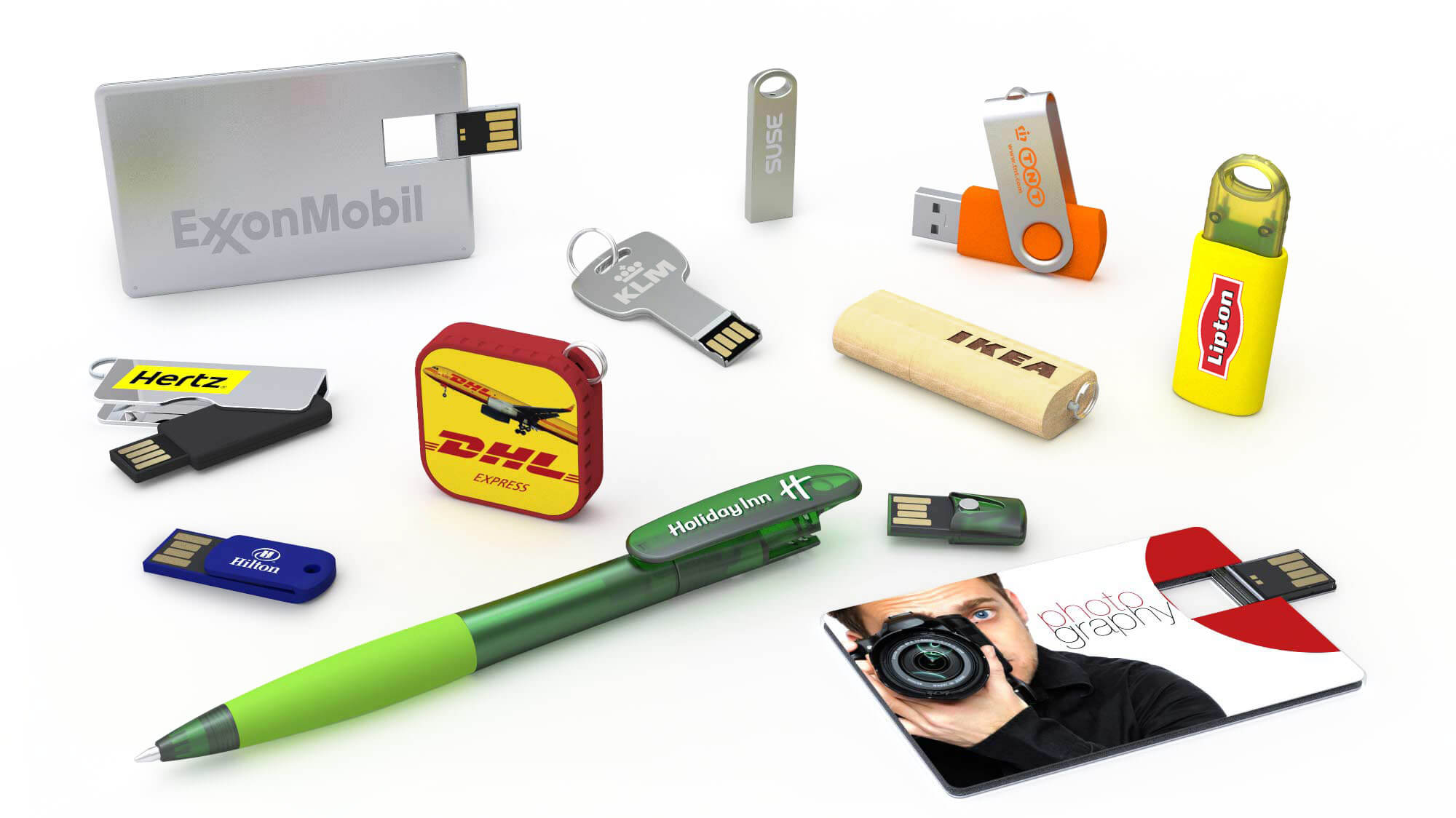 USB flash drive corporate gift
